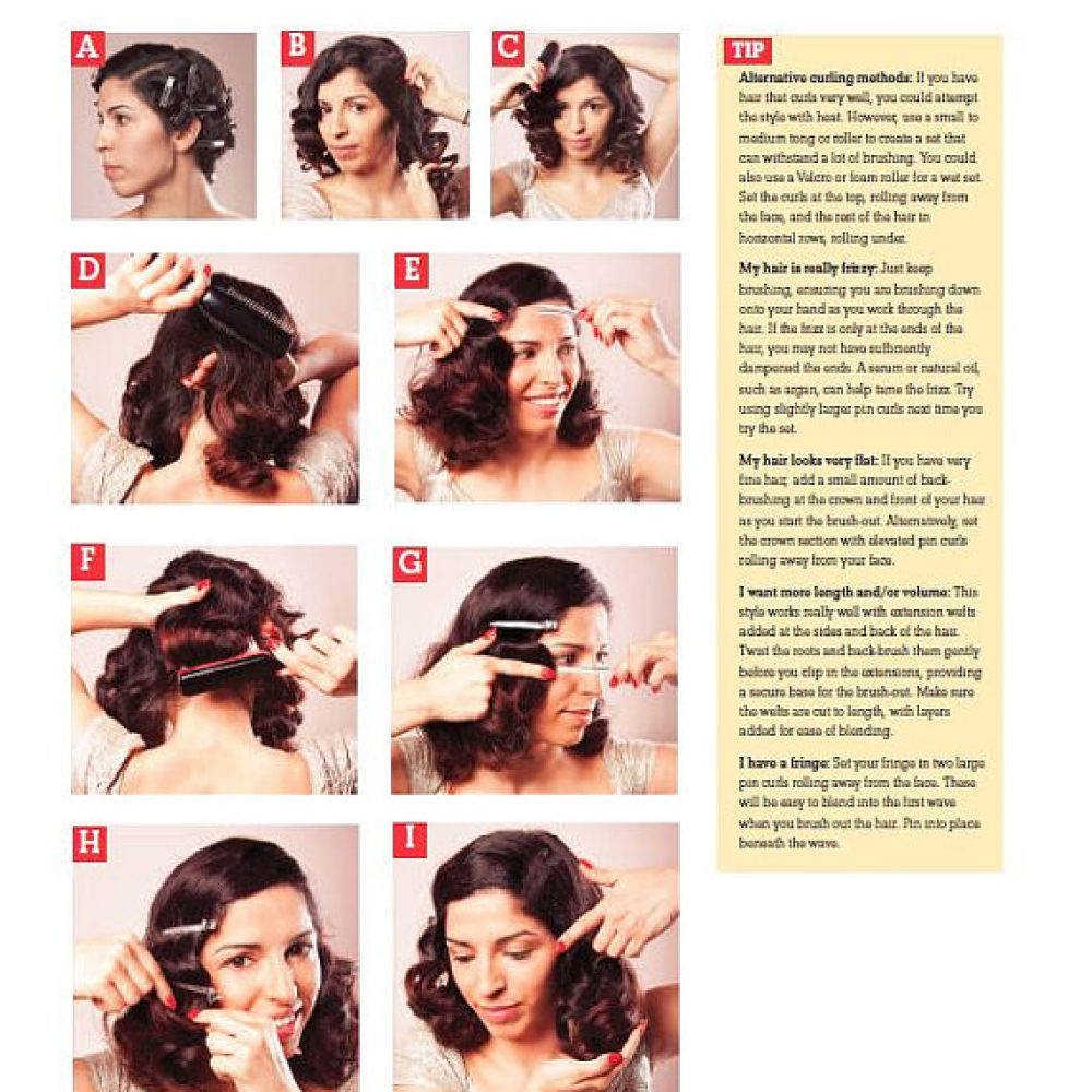 Vintage Hairstyles Of The 1940s A Practical Guide Bethany Jane Davies